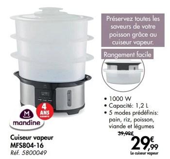 cuiseur vapeur mfs804 16