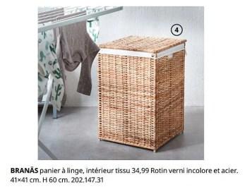 https www promobutler be fr ikea promotions promotion produit maison ikea chez ikea branas panier a linge interieur tissu coffre a linge lavage sechage et repassage id 7906469