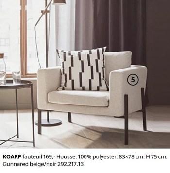 koarp fauteuil