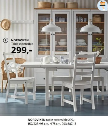 nordviken table extensible