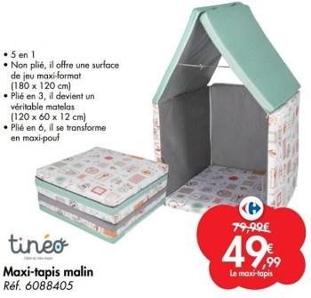 maxi tapis malin
