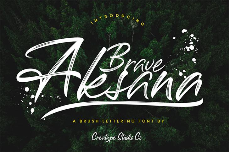 Image for Aksana font