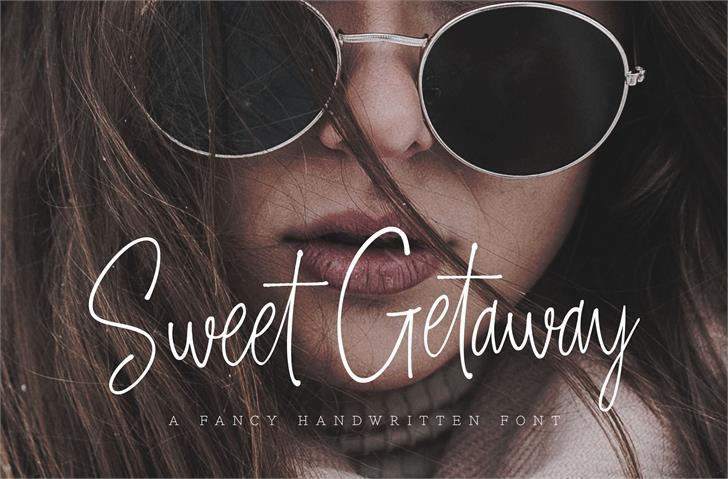 Image for Sweet Getaway DEMO font