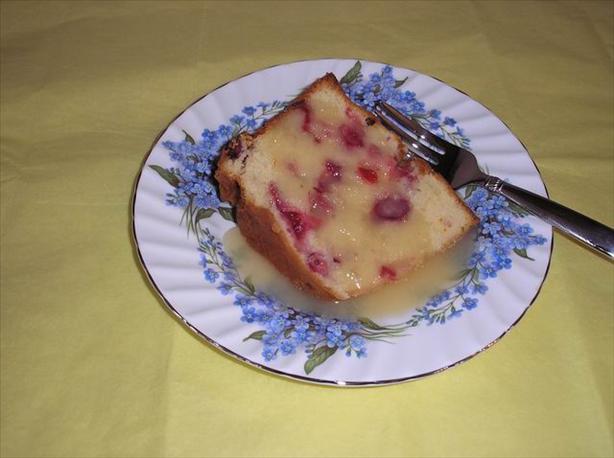 Butter Rum Sauce Cake