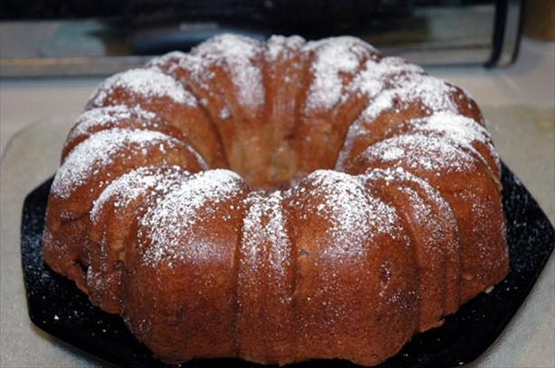 Easy Moist Apple Cake Recipe
