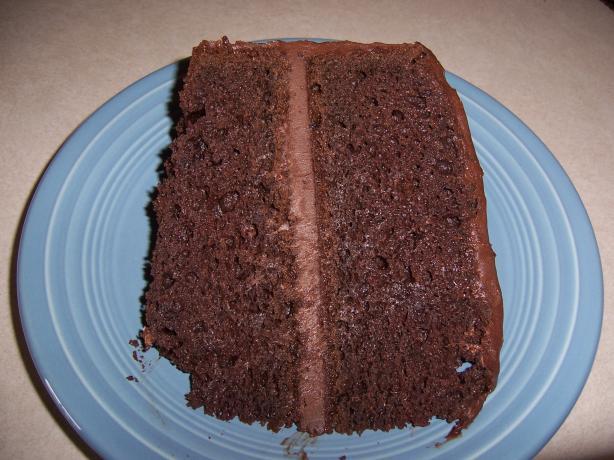 Really Easy Moist Dark Chocolate Cake Recipe Food Com