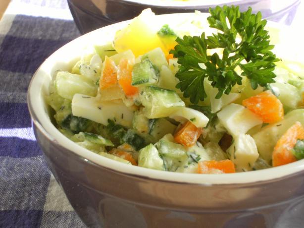Russian Style Salad Salat Olivier) Recipe - Food.com