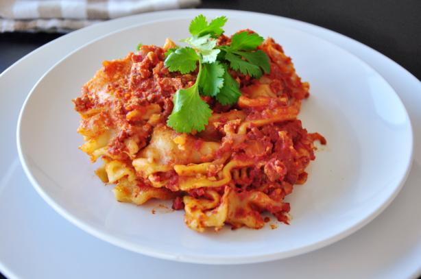 Crock Pot Lasagna. Photo by SharonChen