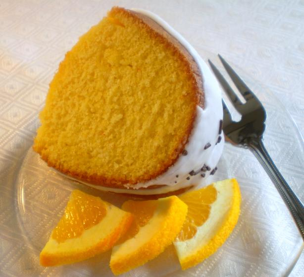 Orange Dreamsicle Bundt Cake