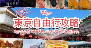 2020東京自由行攻略|新手第一次規劃必看 一篇搞定行程景點交通美食預算!