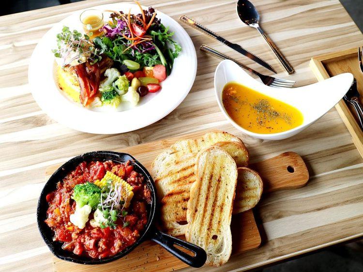 【台南市-北區】MAP LAB Kitchen  旅圖餐廚:在貨櫃屋裡品嚐異國風味早午餐,健康低脂新享受,讓你身體無負擔! 早午餐,甜點,下午茶,義大利麵 近花園夜市 