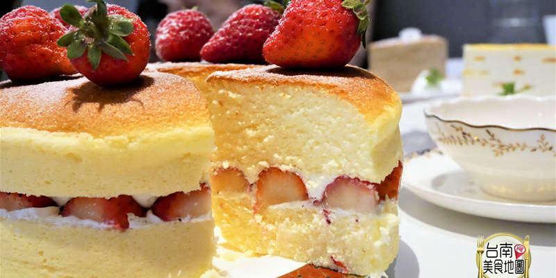 【台南-東區美食】層層幸福堆疊的千層蛋糕綿密好味~更推出草莓限定的
