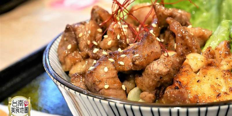 【台南-中西區美食】厚切牛舌丼強勢推出/增量滿出碗邊的肉片花/超適合無肉不歡肉食族啦!