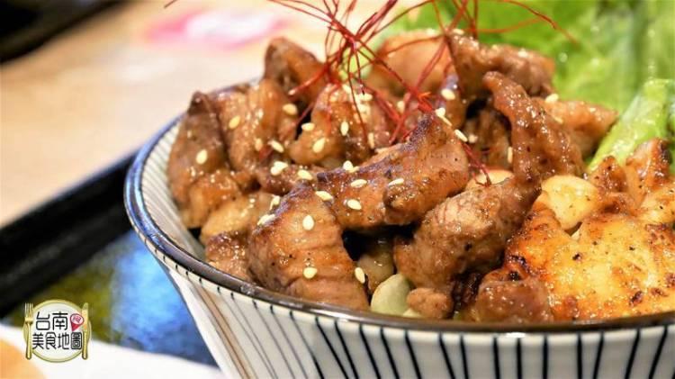 【台南-中西區美食】增量滿出碗邊的肉片花/超適合無肉不歡肉食族啦!