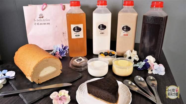【台南-安南區美食】果菜市場內的網購美食/重乳酪巧克力蛋糕/北海道鮮奶油瑞士卷/水果奶酪/純手工布丁