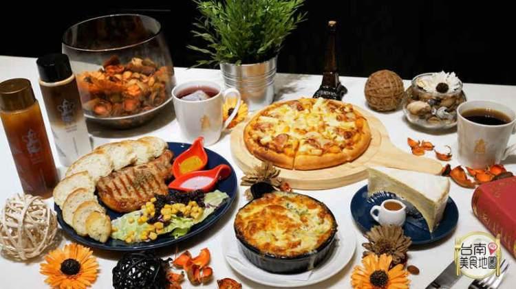 【台南-永康區美食】在歐式典雅的咖啡館裡品嚐精選咖啡與精緻餐點,揪閨蜜一起來享受屬於貴婦般的悠閒時光