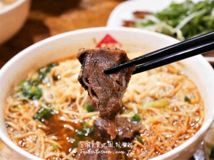 【台南-北區美食】牛肉麵的老品牌,堅持近四十年的老味道