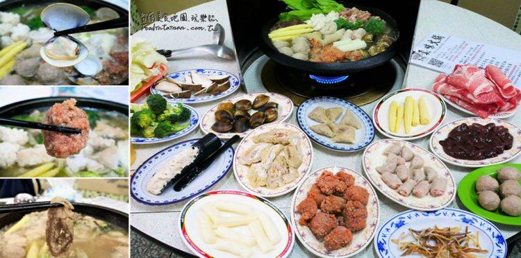 台南北區美食│天然熬煮的蔬果湯頭真是鮮甜,多款手工配料用料實在,三十多年口碑老店