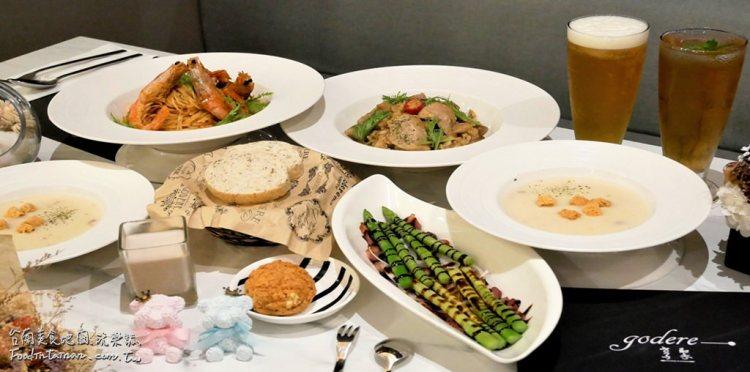 台南永康區美食│永大夜市停車場附近的典雅義式餐廳,適合與姊妹閨蜜約會品嚐美食的舒適空間~