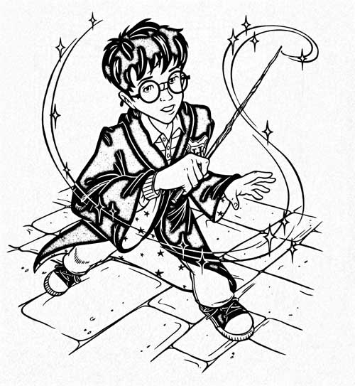 The Magic Of Harry Potter Deluxe Coloring Kits • For The