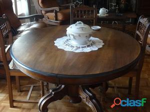 table sculpte pied offres fevrier