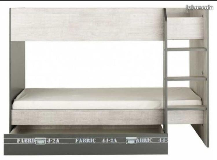 lit superpose tiroir offres fevrier