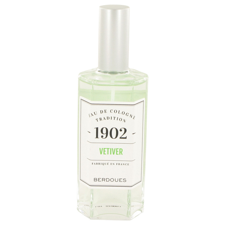 1902 Vetiver by Berdoues Eau De Cologne Spray (Unisex) 4.2 oz for Women
