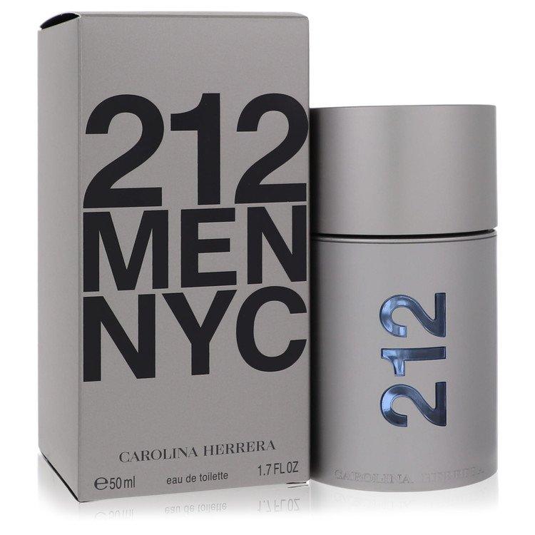 212 by Carolina Herrera Eau De Toilette Spray (New Packaging) 1.7 oz for Men
