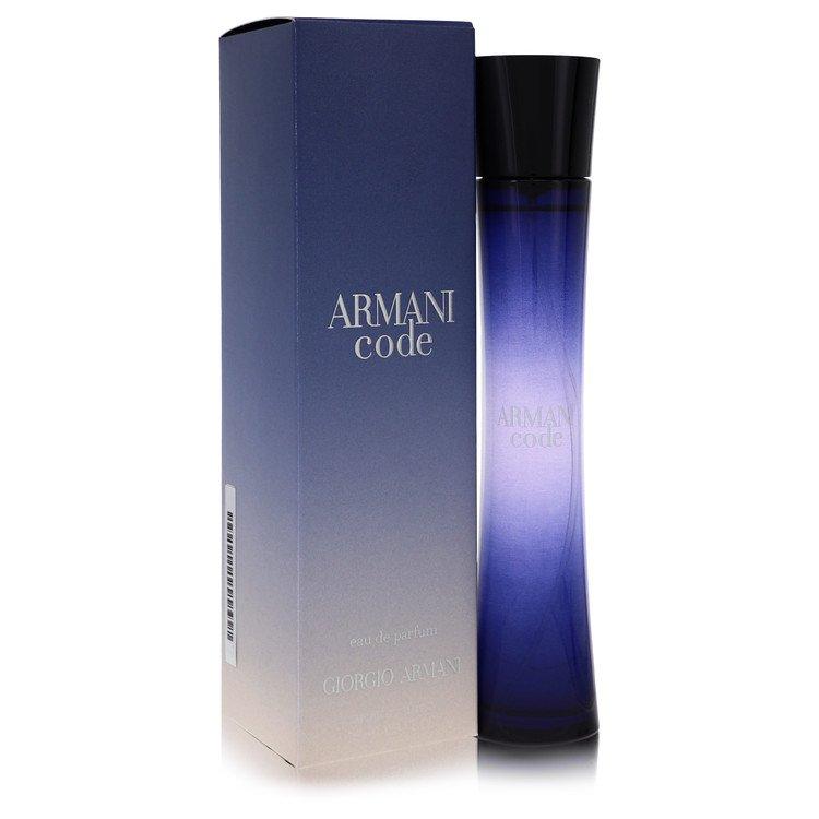 Armani Code by Giorgio Armani Eau De Parfum Spray 2.5 oz for Women
