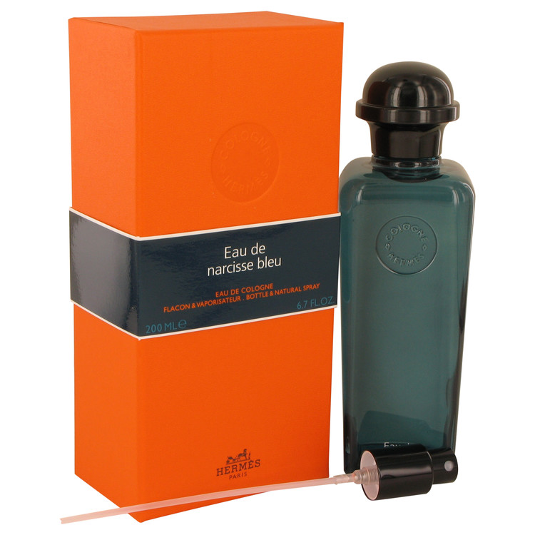 Eau De Narcisse Bleu by Hermes Cologne Spray (Unisex) 6.7 oz