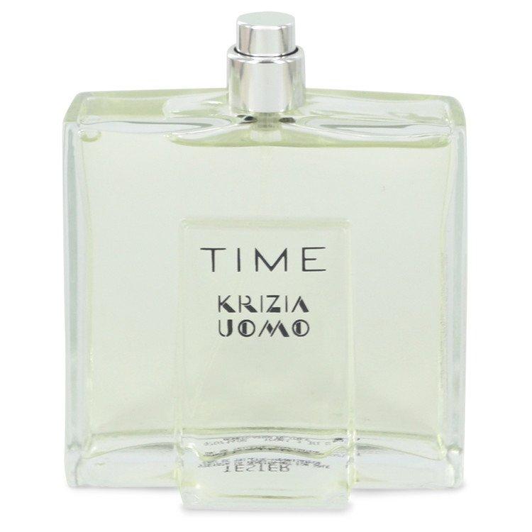 Krizia Time by Krizia Eau De Toilette Spray (Tester) 3.4 oz for Men