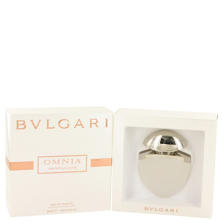 OMNIA CRYSTALLINE by Bvlgari Eau De Toilette Spray .85 oz for Women