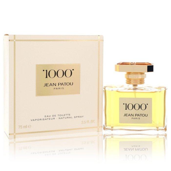 1000 Perfume by Jean Patou 75 ml Eau De Toilette Spray for Women