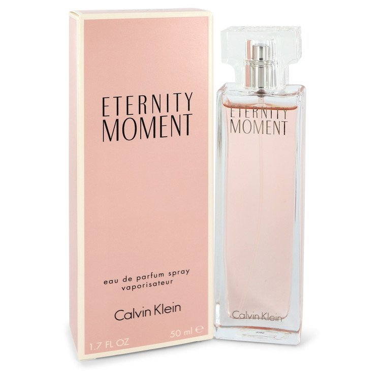 Eternity Moment by Calvin Klein Eau De Parfum Spray 1.7 oz for Women