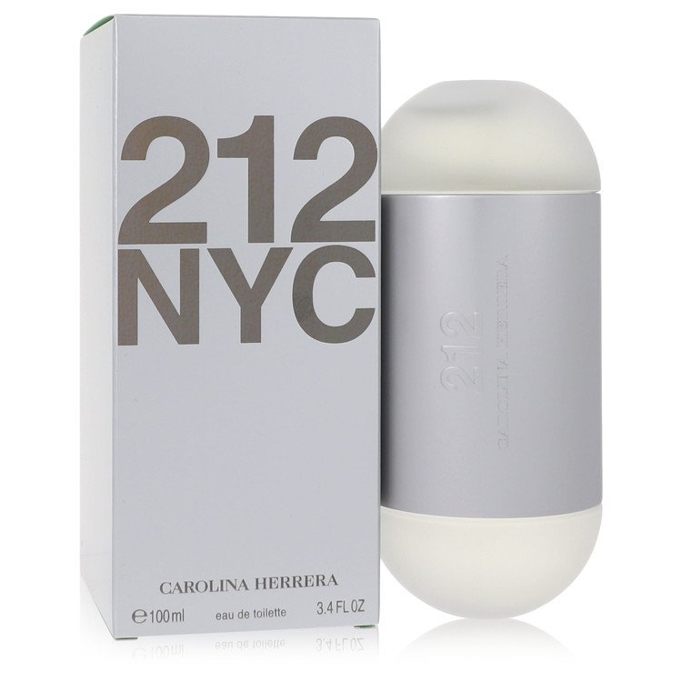 212 by Carolina Herrera Eau De Toilette Spray (New Packaging) 3.4 oz for Women
