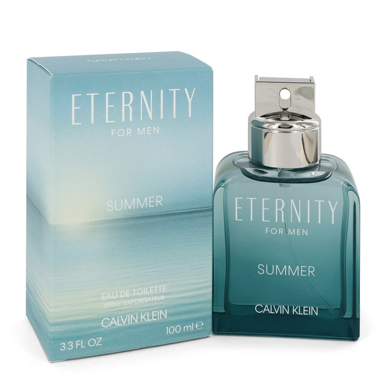 Eternity Summer by Calvin Klein Eau De Toilette Spray (2020) 3.4 oz for Men