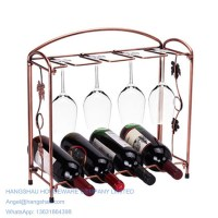 wire wine bottle holder images.