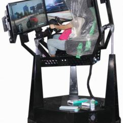 Hydraulic Racing Simulator Chair Kid Recliner 7d Cinema Images
