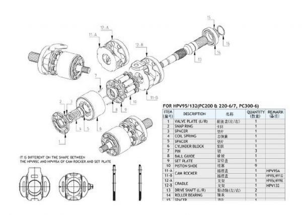 komatsu hydraulic excavator images.