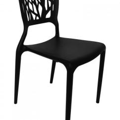 Black Plastic Chairs Pillow For Chair Stacking Outdoor Images