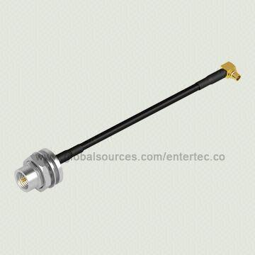 RG-174 RF Adapter Cable with Male MMCX R/A Jack to Male