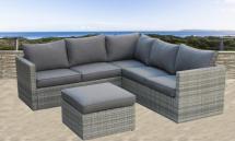 Resin Wicker Garden Sofa