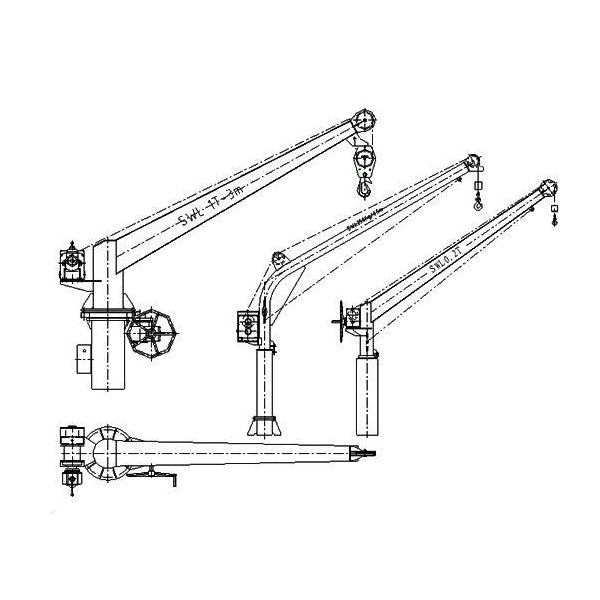 General Ship Crane Product Hose Handling Crane images,View