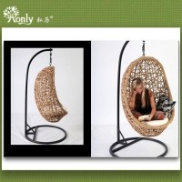hanging glass chair images.