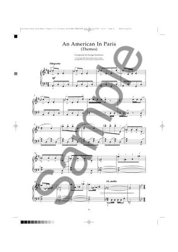 Partitions : Gershwin, George : Gershwin Gold Easy Piano