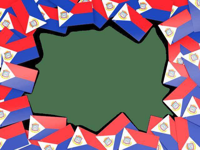 flag frame illustration of
