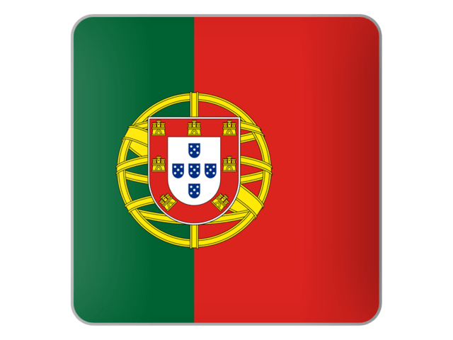 Square icon. Download flag icon of Portugal at PNG format