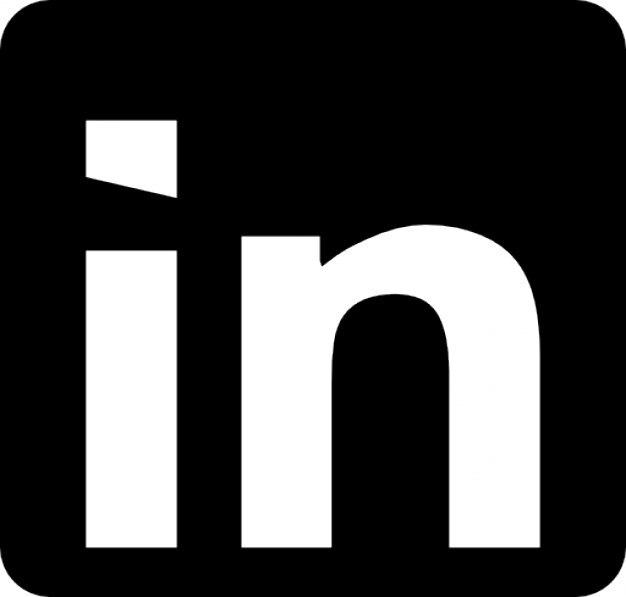 linkedin logo icons free