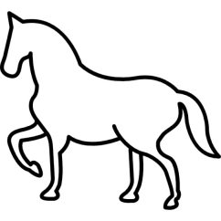 Horseshoe Rocking Chair White All Purpose Salon Horse Outline Vectors, Photos And Psd Files | Free Download