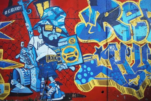 Klotter och grafitti